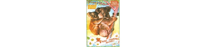 album figurine didattici vendita- Animal Albums sale-Tiere Album