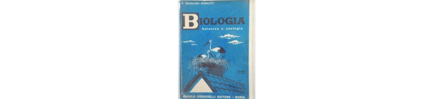 vecchi libri biologia vendita - libri medicina vendita  -