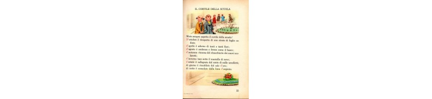 libri di scuola elementare vendita -old books for children sale -