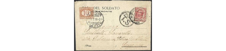 vendita lettere militari-Military letters-Militärbriefe