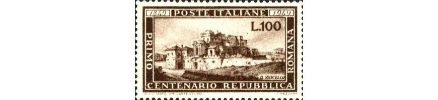 vendita francobolli repubblica storia-Stamps sale-Briefmarken Verkauf-