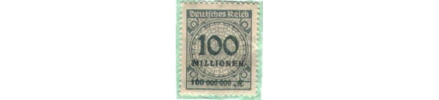 vendita francobolli germania-Stamps sale-Briefmarken Verkauf-