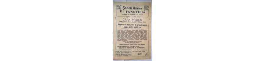 vendita collezionismo foglietti pubblicitari-collectibles reclam -