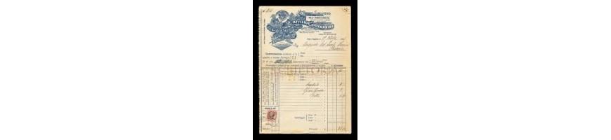 fatture e documenti commerciali vendita- sales bills and sales documen