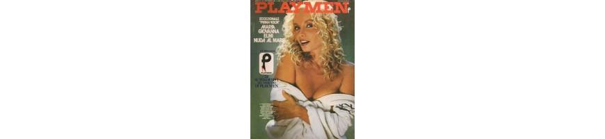 playmen arretrati vendita collezionare - old magazine playmen sales-