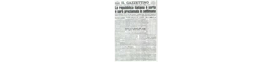 vendita vecchi giornali -collezionare giornali-vendita giornali