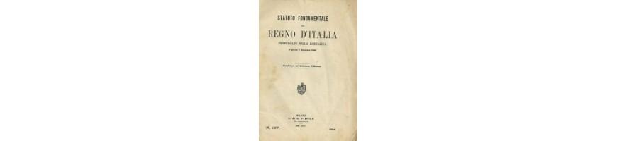 vendita decreti Regno Italia 1861/1922- decreti regno italia vendita