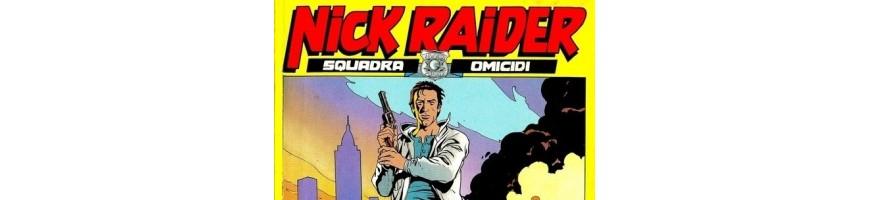 nick raider vendita-vendita fumetti nick raider- nick raider sale