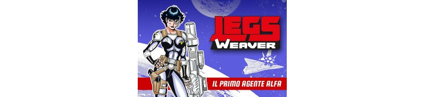 Legs Weaver vendita- fumetti legs weaver-